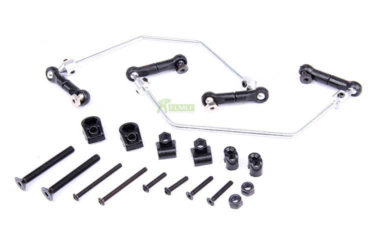 Plastic Sway Bar Anti Roll Bar Set Fit voor 1/5 HPI ROVAN KM BAJA 5B 5T 5SC