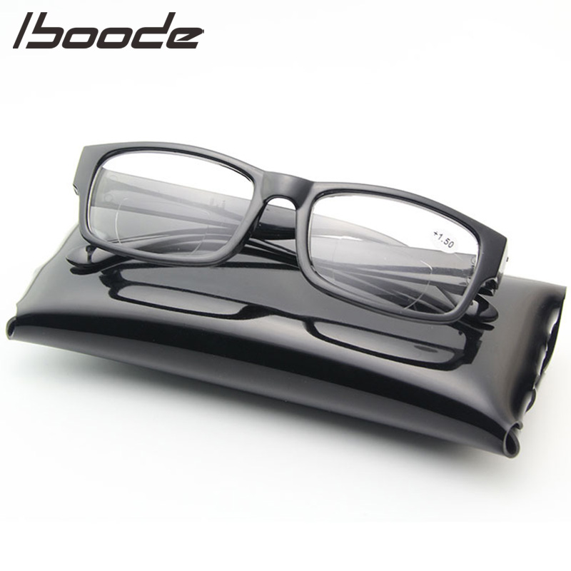 IBOODE Square Reading Glasses Men Women Presbyopic Eyeglasses Female Male Hyperopia Eyewear Unisex Diopter Optics Spectacles