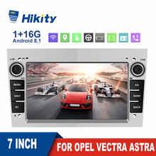 Hikity Car Radio Multimedia Player NO DVD GPS Navigation 7'' For Opel Vectra Astra Antara Zafira Meriva Vivara Vivaro Combo