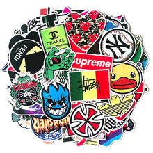 50pcs 2020 Car Styling Sticker Bomb Stickers Skateboard Graffiti Laptop Stickers Motorcycle Luggage Bags Accessories Vinyl Decal