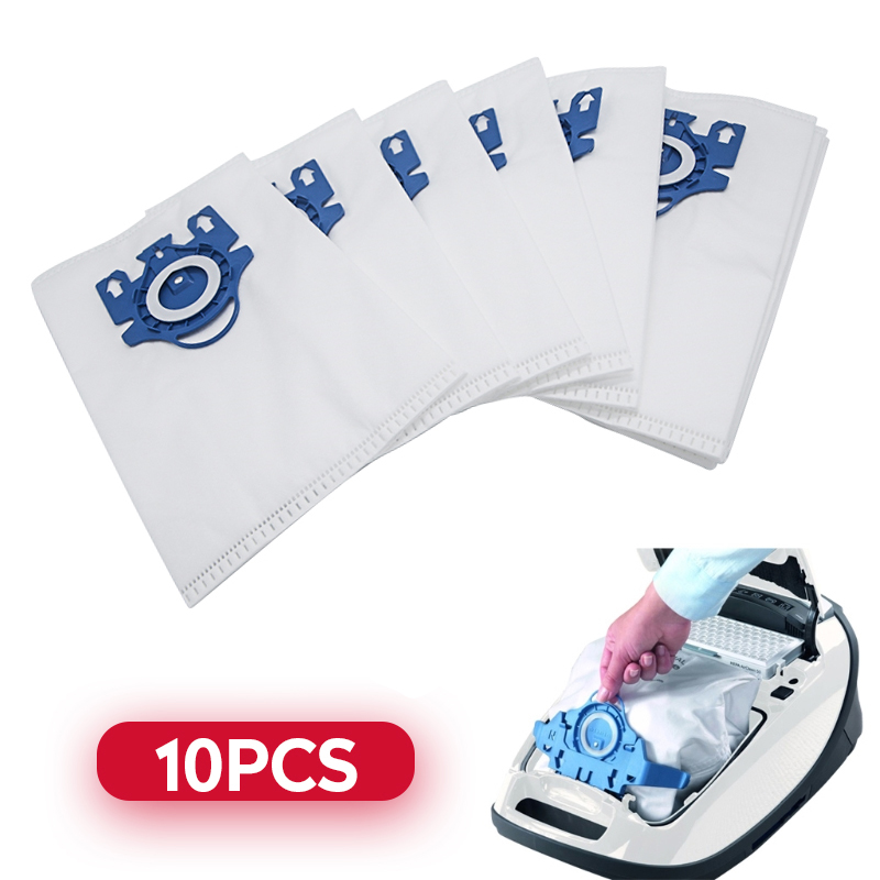 10Pcs/Lot Vacuum Cleaner Dust Bags Fit For Miele Type GN Deluxe Synthetic Vacuum Cleaner 2 S2 S5 S8 C1 C3 Hepa Filters