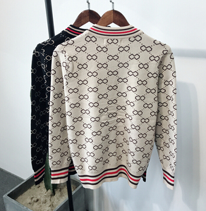 Image 4 - Autumn and Winter Mens Jacquard and Fit up V neck Knitted Mens fashion trend Simple retro casual sweater  Men