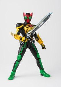 "Image 5 - ""Kamen Rider OOO"" Original BANDAI SPIRITS Tamashii Nations S.H. Figuarts / SHF Action Figure   Masked Rider OOO TaToBa Combo"
