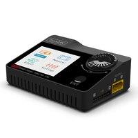 Toolkitrc m8s 400w 18a cor tela balanceamento carregador descarregador para 1-8s lipo lihv vida leão nimh pb bateria