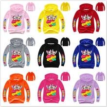 Sweatshirt Jojo Siwa Hoodie Baby-Boy-Girl Cartoon ME Kid TE CONTRO Felpa La-Maglietta-Outfit