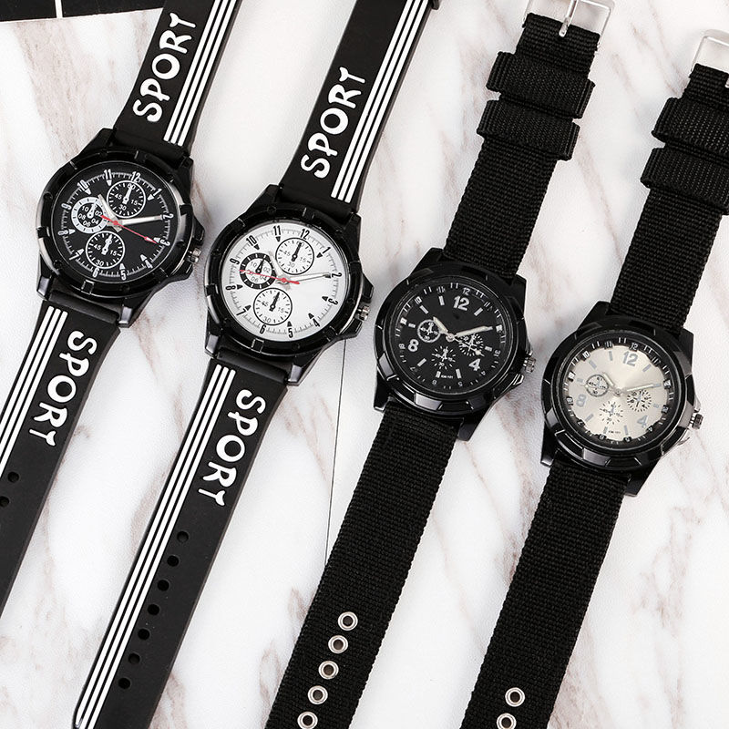 Nylon Children's Watches Kids Sports Style Quartz Clock For 7-18 Years Student Watch Boy Girl Man Hour Drop Shipping C3635