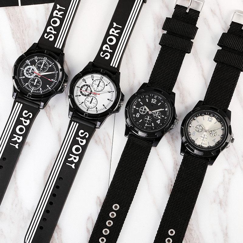Nylon Children's Watches Kids Sports Style Quartz Clock For 7-18 Years Student Watch Boy Girl Man Hour Drop Shipping C3635