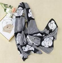 Женский шелковый шарф для девушек с цветочным принтом камелии, Пляжная шаль, Пашмина, головной шарф, подарок