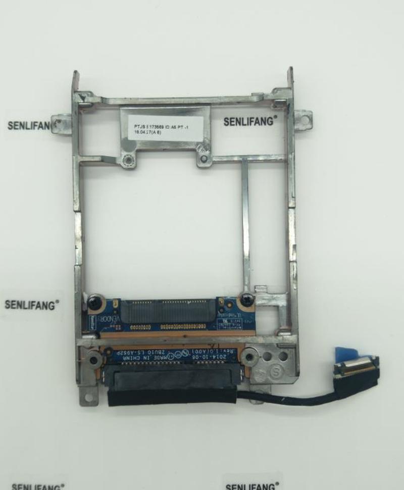 For Dell For Latitude E7440 E7450 MSATA To SATA Adapter Hard Drive Caddy FCN4M Free Shipping