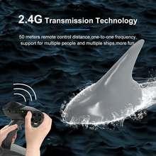 RC Boat 2.4G Remote Control Electric Shark Fin Boat