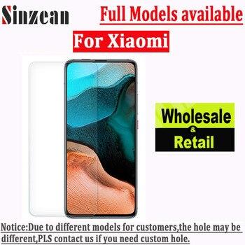 Sinzean 20pcs For Xiaomi Max 4 Pro/Max 3 Pro/Max 2/A3 Pro/A2 Lite/A1/Redmi Note 5 Pro 2.5D Clear Tempered Glass Screen Protector