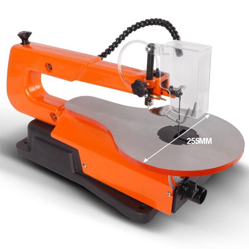 Ménage mini pull fleur scie table courbe outils de travail du bois Table scie électrique sans poussière fil scie