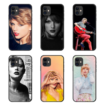 Taylor Swift T-Swizzle Tay Phone Case Cover Hull For iphone 5 5s se 2 6 6s 7 8 plus X XS XR 11 PRO MAX black prime soft shell