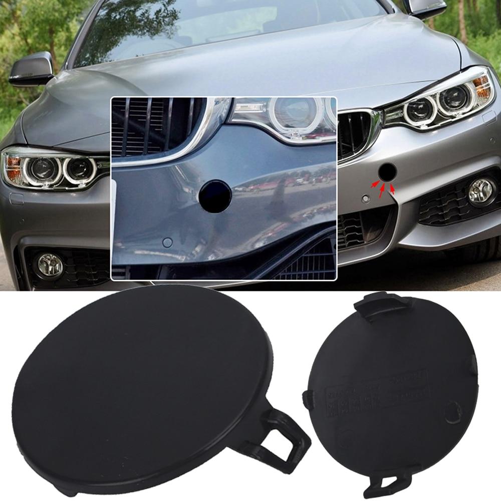 BMW OEM 09-11 335d Rear Bumper-Tow Hook Eye Cap Cover 51127202673