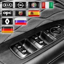 10 шт. Новый Автомобильный руль 3D Маленькая эмблема наклейка для BMW M F10 F07 E90 E60 F30 E89 E85 E91 E92 X1 X3 X4 X5 X6 1 3 5 7 серия