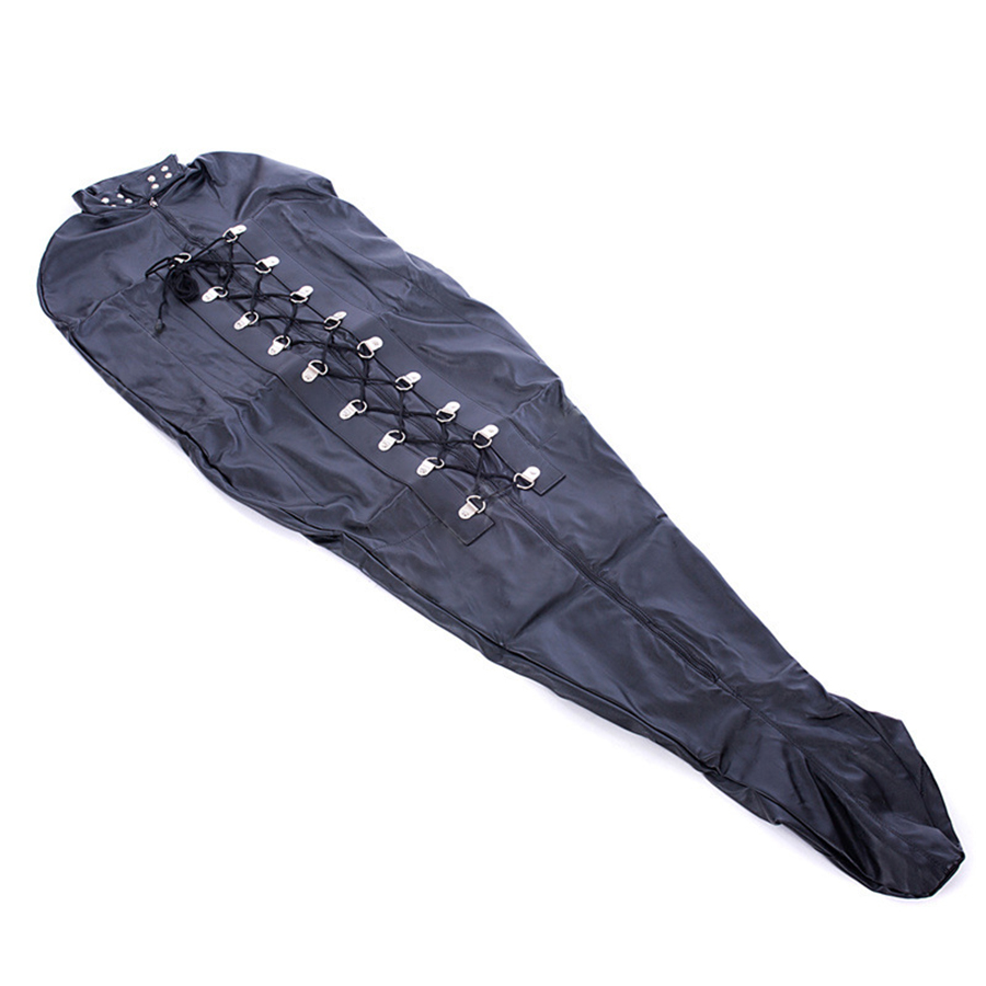 Image 4 - Mummy Bag Mermaid Mummy Gimp Restraint Straight Jacket Sleeping  Body Bag Sack Bondage Restraints StraitjacketTeddies