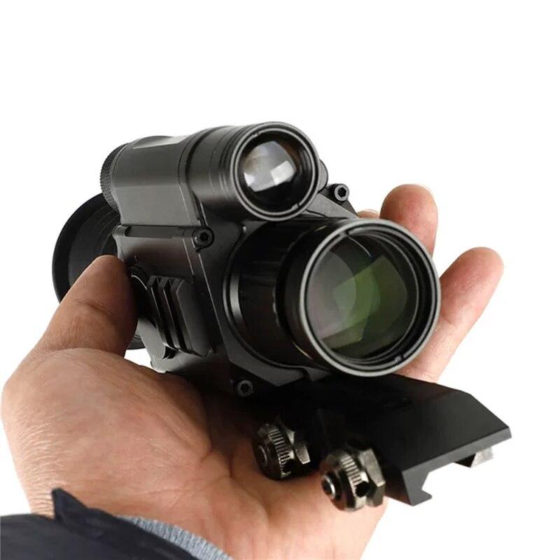 NV008 Prade haute définition haute résolution infrarouge Laser Vision nocturne caméra vidéo infrarouge chasse nuit monoculaire téléope