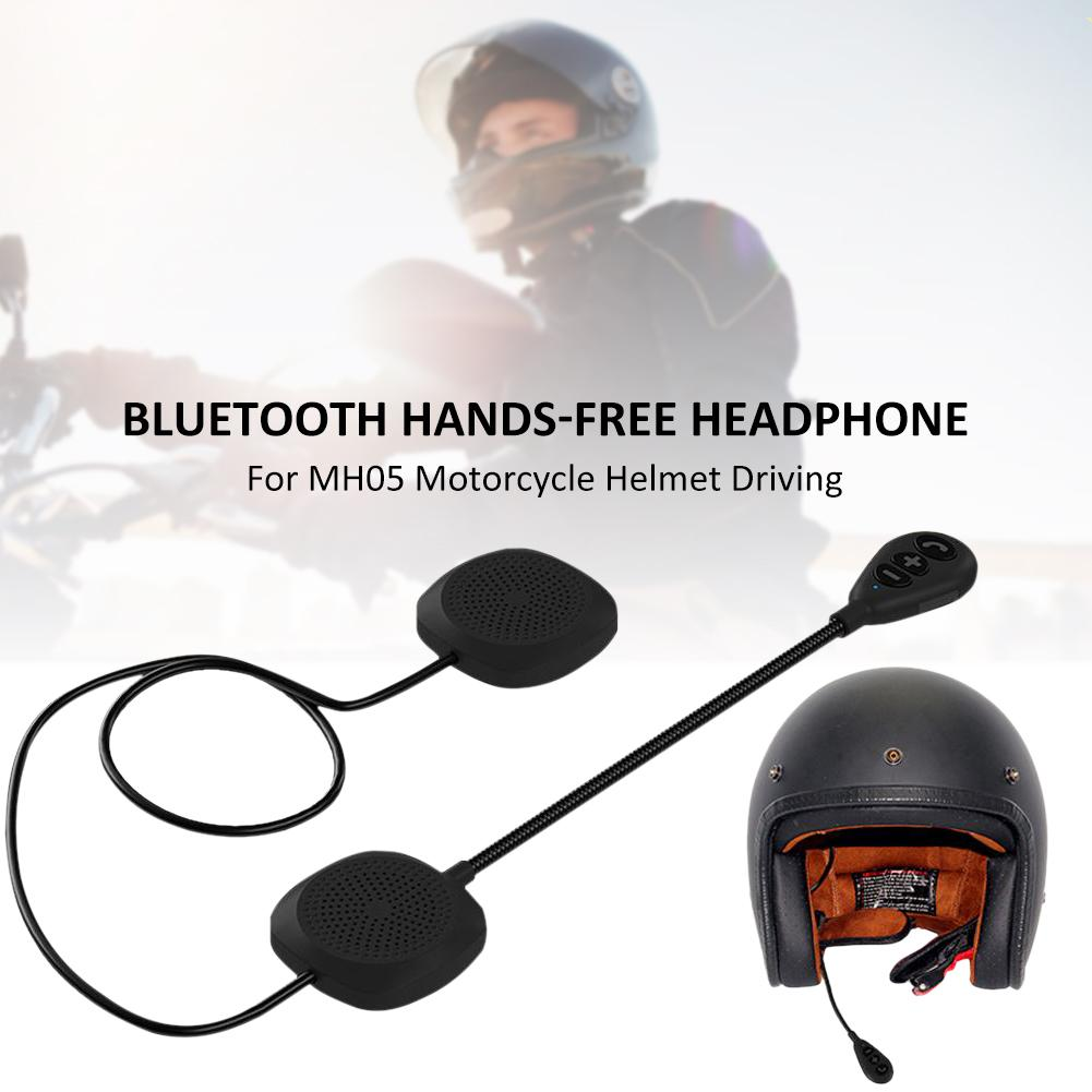 2019 New Bluetooth Hands-free Headphone Anti-interference Headset For MH05 Motorcycle Helmet Driving