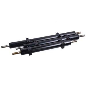Металлический немощный мост 120 мм/140 мм/170 мм для 1/14 трейлера Tamiya 1/10 RC автомобиля DIY модификация обновления