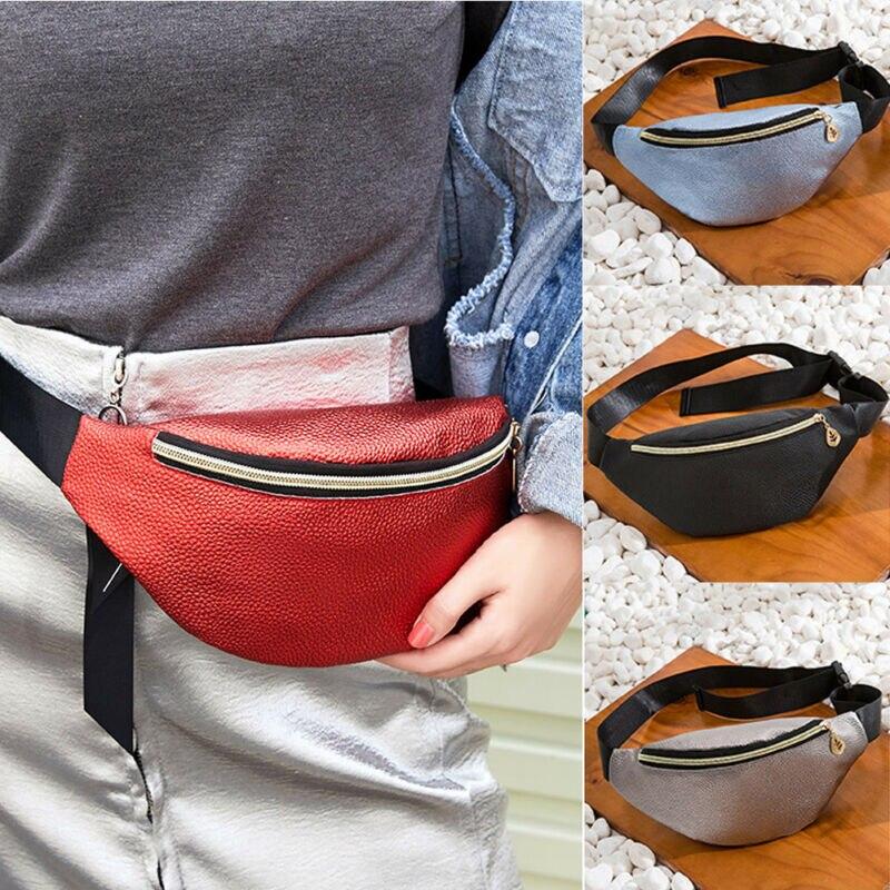 Women Waist Fanny Pack Holiday Money Belt Wallet Mini Bum Travel Bag Pouch 2020 Travel Hip Bum Bag Small Purse Chest Pouch
