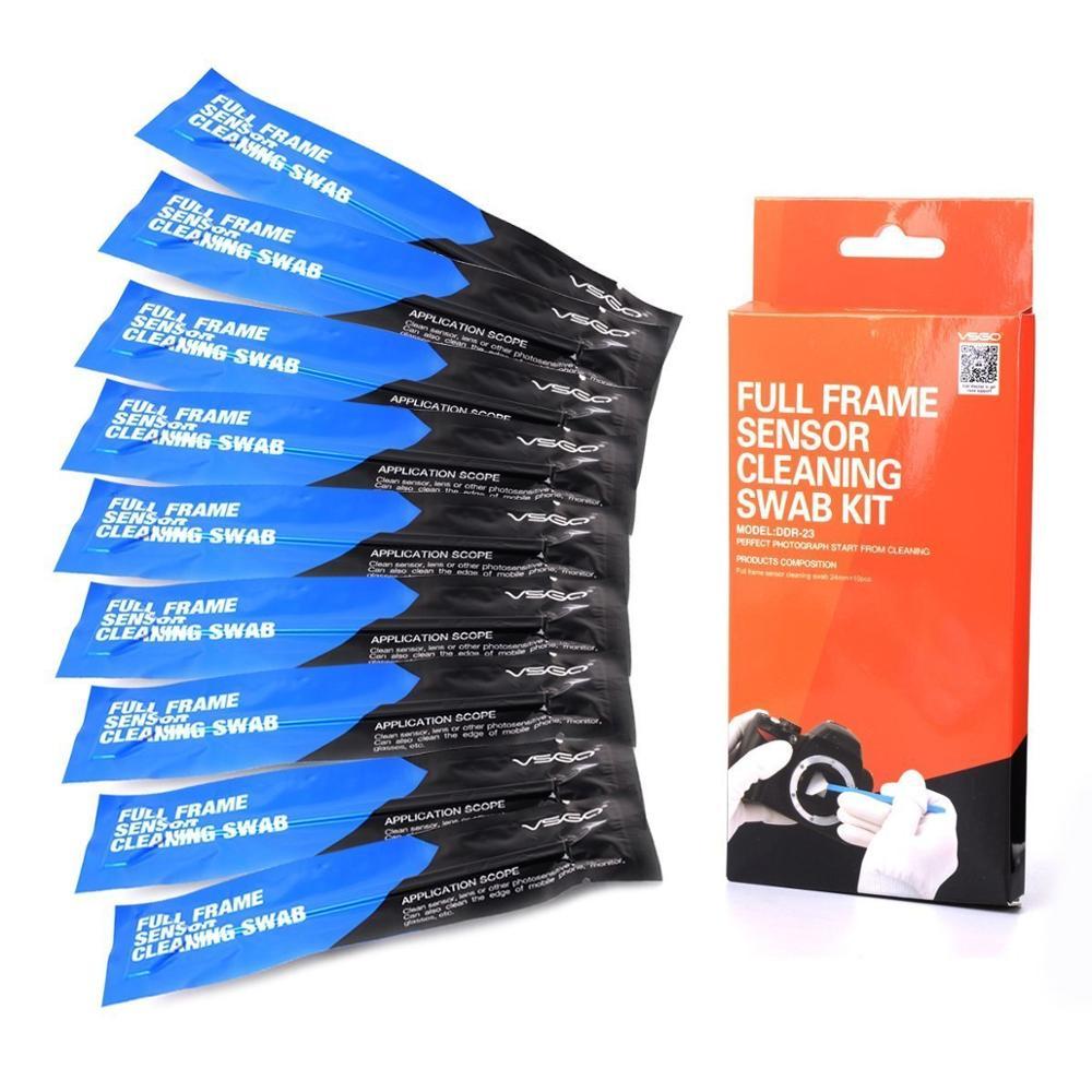 Cleaning-Kit Camera Vsgo-Sensor Dustfree Full-Frame DDR-23 10pcs