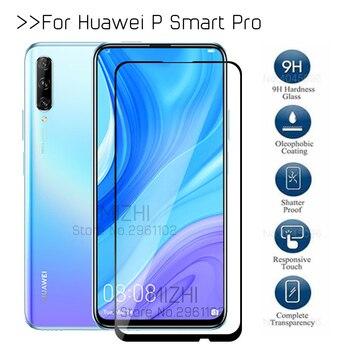 Перейти на Алиэкспресс и купить Защитное стекло psmart pro для huawei p smart pro 2019 плюс закалённое защитное стекло на huwei psmartpro stk-l21 Защитная пленка для экрана 6,59