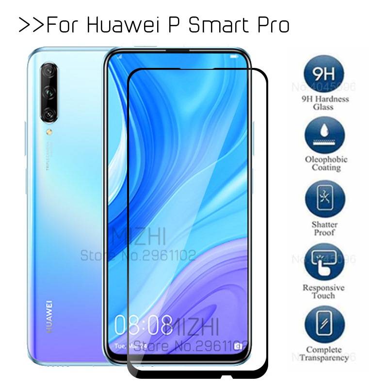 Protective Glass Psmart Pro For Huawei P Smart Pro 2019 Plus Tempered Glas On Huwei Psmartpro Stk-l21 Screen Protector Film 6.59