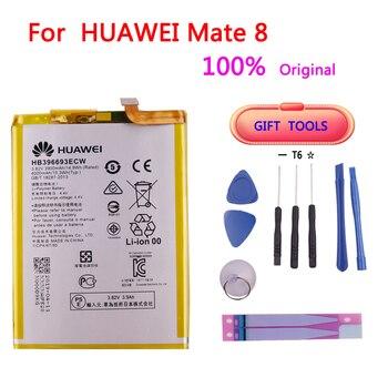 100٪ البطارية الأصلية لهواوي HB396693ECW 3900 مللي أمبير في الساعة ل Huawei Mate 8 NXT-AL10 NXT-TL00 NXT-CL00 NXT-DL00 mate8 battery