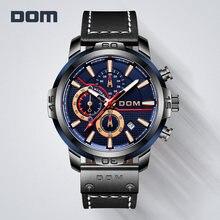 Dom estilo supercar relógio masculino safira natação à prova dwaterproof água luminoso calendário cronógrafo grande dial relógio de pulso masculino M-132