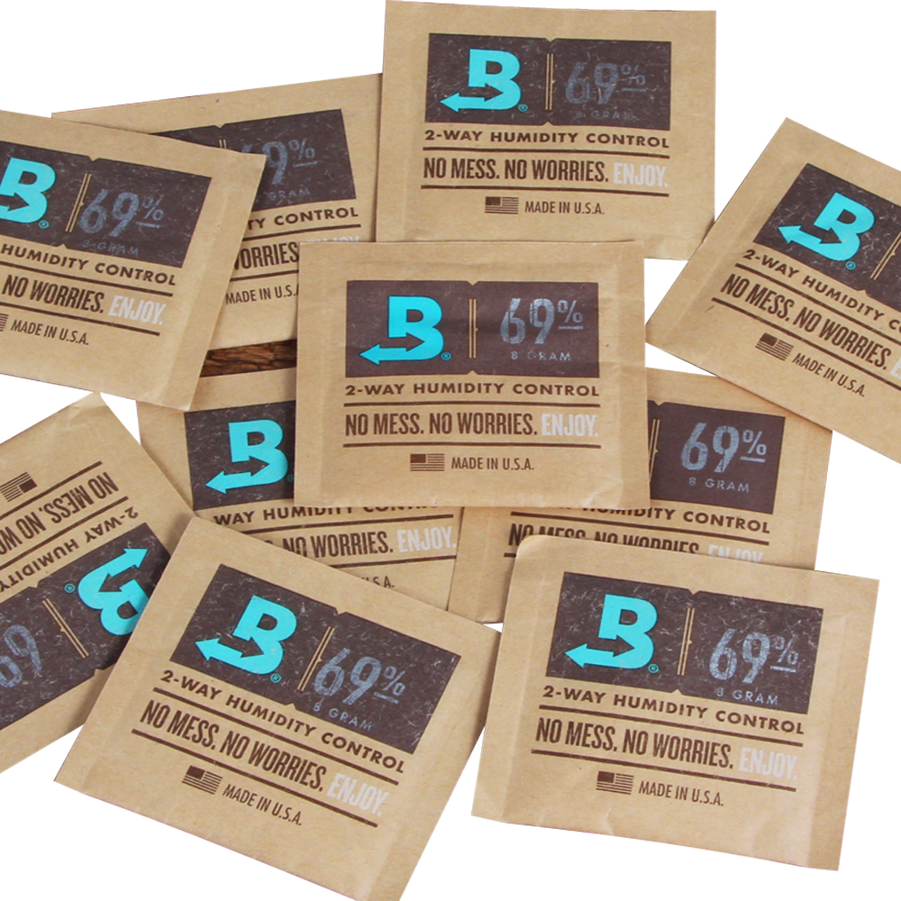 GALINER <font><b>Boveda</b></font> Cigar Humidifier Bag 65%-72% Humidity Control Humidor Humidifier For COHIBA Cuba Cigars 1 Piece image