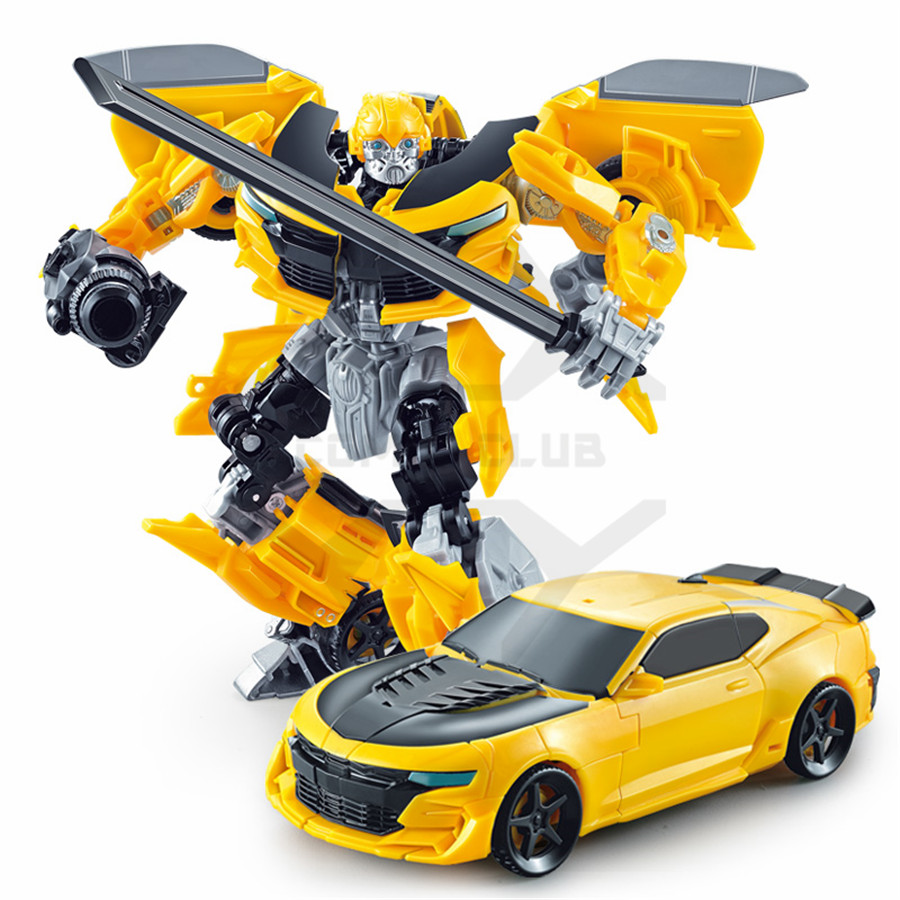 Anime transformation 4 Car Robot Toys PVC Action Figure Brinquedos Car Robot Classic Model toys For Children Toys Gift in Action Toy Figures from Toys Hobbies