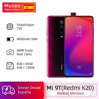Купить Глобальная версия Xiaomi Mi 9 T 9 T Redmi K20 6 ГБ 64 Гб Восьмиядерный Snapdragon 730 6,39 дюйма AMOLED камеры 48 МП 4000 мАч NFC