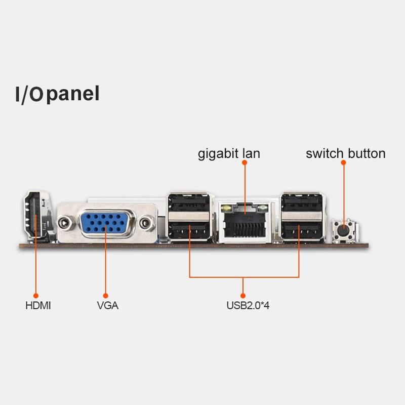 BTC-T37 Mining Motherboard VGA 8PCIE 16X 8GPU Video Card Support 1066/1333/1600MHz DDR3/DDR3L BTC-T37 Mining Motherboard 5