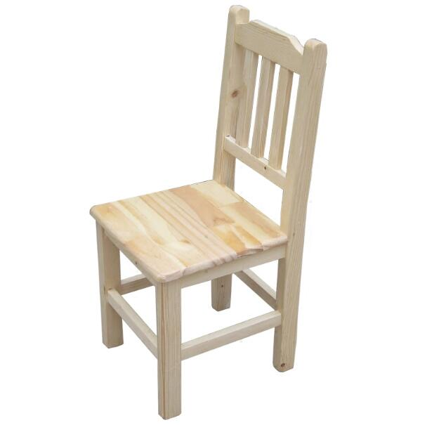 For Children Solid Wood Dining Chair Back-rest Chair