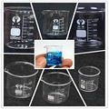 Лабораторный стакан-пирекс, 1 шт., 5 мл/10 мл/50 мл/100 мл, измерительный стакан для лабораторного или кухонного использования, Прямая поставка, 2020