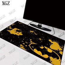 XGZ Batman Logo Mouse Pad Gaming Large pad Computer Big  Mat Office Desk  Keyboard  Lock Edge Mause  for Game
