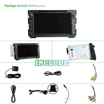 IPS DSP 4G 64G 2 Din Android 10 car multimedia dvd player For KIA Ceed 2009 2010 2011 2012 auto radio GPS Navigation fm obd2 DVR