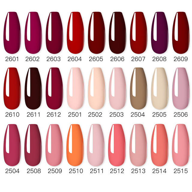 ROSALIND Nail Polish Red Nude Series Polish All For Manicure Nails Art Semi Permanent Gel UV LED Soff Off Hybrid Varnishes 2