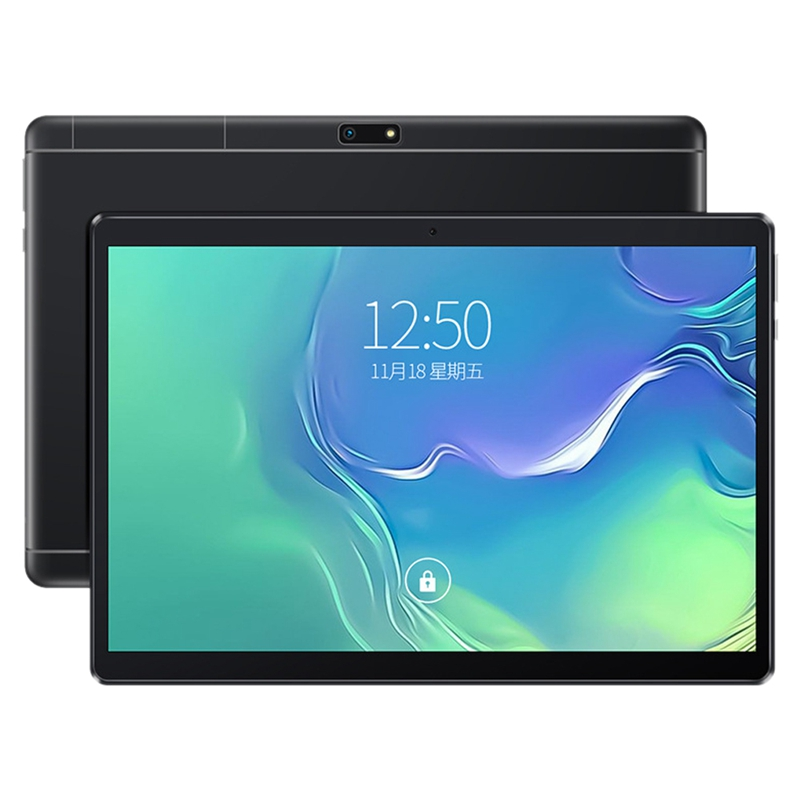 10-Inch Tablet PC 4 Core Android 8.0 Dual Card 4G Call IPS HD Sn 1280X800P GPS 1+16GB 3500Mah Battery(EU Plug)