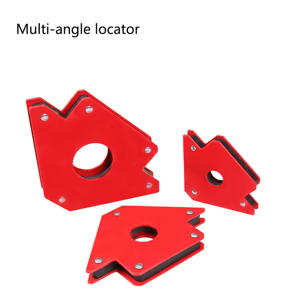 25LBs Multi-angle Soldering Locator Strong Magnet Welding Magnetic Holder 3 Angle Arrow Positioner Welding Tool Accessories