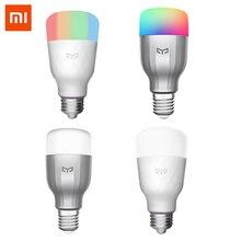 Yeelight لمبة ملونة E27 الذكية APP واي فاي التحكم عن بعد الذكية مصباح ليد RGB/درجة الحرارة الملونة رومانسية المصباح الكهربي
