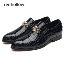 Fashion Men Pu Leather Shoes Pointed Toe Slip on Loafers Flat Comfort Casual Spring and Autumn