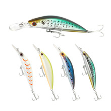 Bassland Sinking Minnow Fishing lures Long Lip 70mm 15g Long Casting Hard Bait for bass pike Fishing Tackle