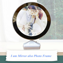 Magic Mirror photo frame for picture LED Photo frame light set 16x20 Creative photo frame table decoration for promotional gift european style photo frame american french creative picture frame photo frame