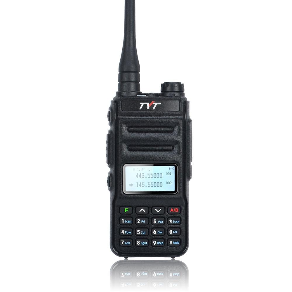 TYT TH-UV88 VOX Dual Band Walkie Talkie VHF 136-174MHz & UHF 400-480MHz 5W 200CH Scrambler Portable Two Way Radio TYT FM Radio