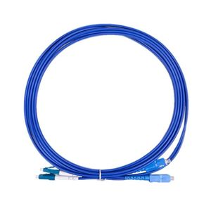 Image 2 - SC/UPC to LC/UPC Armored Fiber Patch Cable Duplex Single Mode Armored optical Patch cord