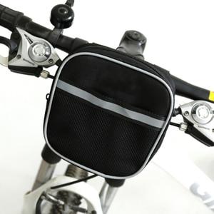 Велосипедная сумка на руле MTB велосипеда, велосипедная сумка на переднем руле, корзина, чехол на переднем горном велосипеде, сумка для мужчи...