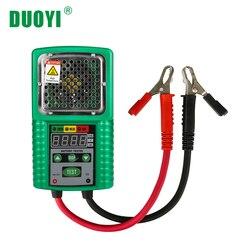 Duoyi dy226 testador de bateria, 6v 12v dc, verificação de ups, bateria marinha de armazenamento de energia solar automotiva, visor led capacidade de armazenamento