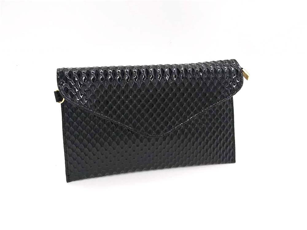 Women Envelope Clutch PU Leather Clutch Bag Lady Evening Handbag Simple Elegant Female Messenger Bag Crossbody Bags For Women