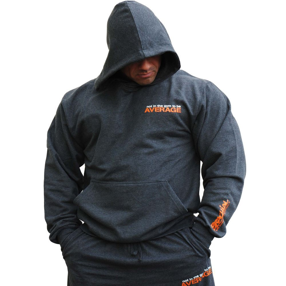 Gym Hoodies Men Casual Sweatshirt Fitness Workout Cotton Sportswear 2020 Spring New Male Plus size Loose Pullover Tops Clothes